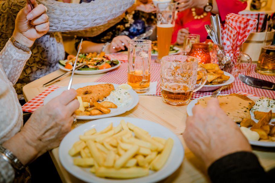 Eten met grote groepen